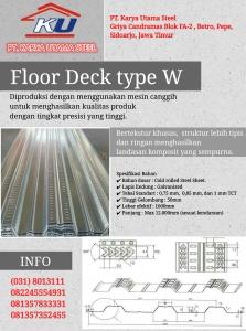 Jual Floordeck Penyangga Lantai Cor