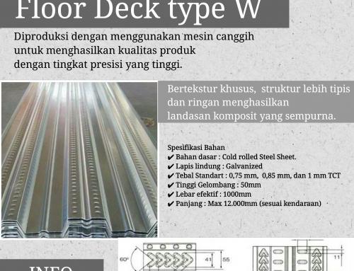 Harga Bondek Per Meter Murah Tebal TCT 0,75 mm di Sidoarjo Jawa Timur